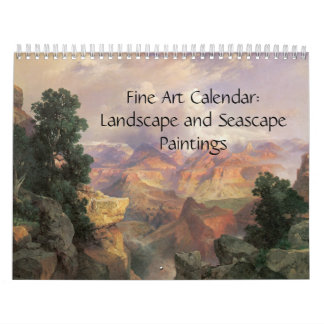 2018 Fine Art Calendar Landscapes and Seascape