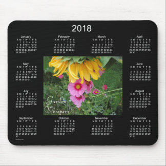 2018 Garden Whispers Calendar by Janz Mouse Pad