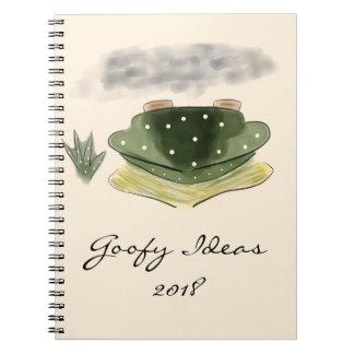 2018 Goofy Ideas Diary Notebooks