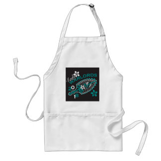 2018 Lady Warlords - Black Adult Apron