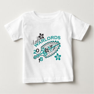 2018 Lady Warlords - White Design Baby T-Shirt