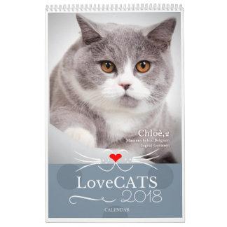 2018 LoveCATS Calendar First Edition