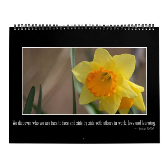 2018 Messages of Inspiration & Motivation Wall Calendars