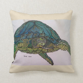 2018 metallic turtle cushion