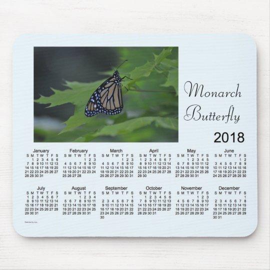 2018 Monarch Butterfly Calendar by Janz Mouse Mat