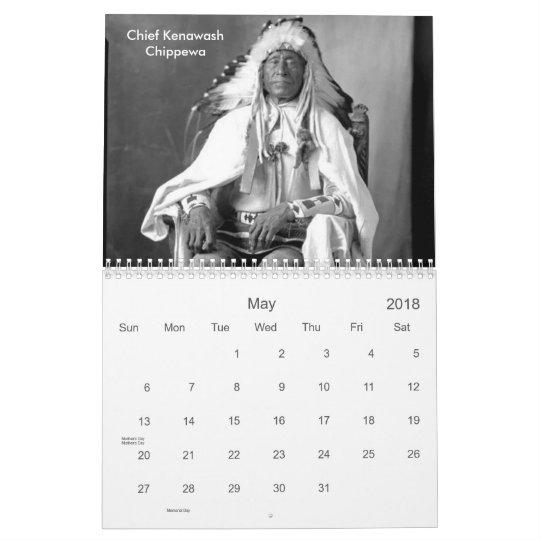 2018, Native American Photos, American Indians Calendars
