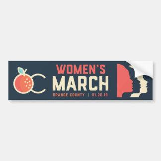 2018 OC Women's March Bumper Sticker