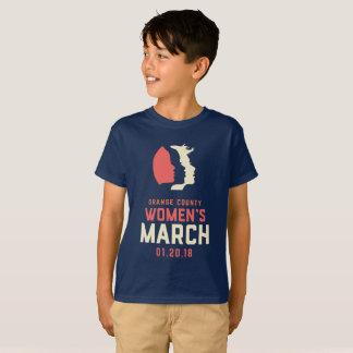 2018 OC Women's March Youth Navy Shirt