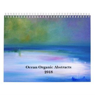 2018 Ocean Organic Abstracts Calendar