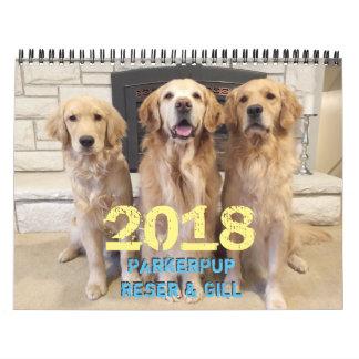 2018 ParkerPup Calendar