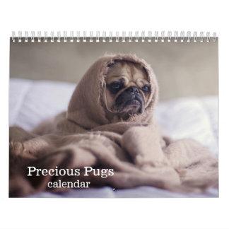 2018 Precious Pugs Calendars