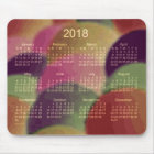 2018 Rainbow Art Calendar by Janz Mouse Pad
