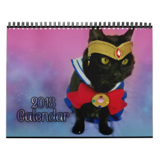 2018 Sailor Moon Cat Calendar