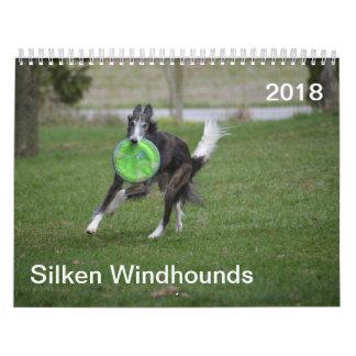 2018 Silken Windhounds (In Action) Calendar