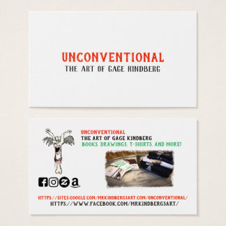 2018 UNconventional Business Card