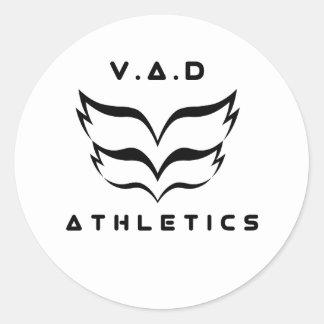 2018 V.A.D Athletics logo Stickers