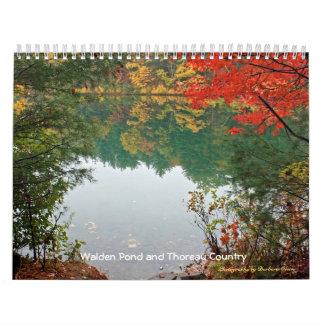 2018 Walden Pond and Thoreau Country Calendars