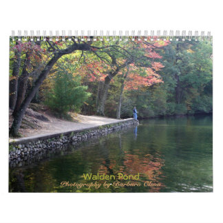 2018 Walden Pond: with quotes Calendars