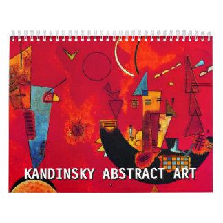 2018 Wassily Kandinsky Abstract Art Calendar