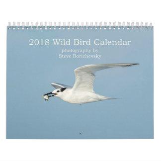 2018 Wild Bird Calendar