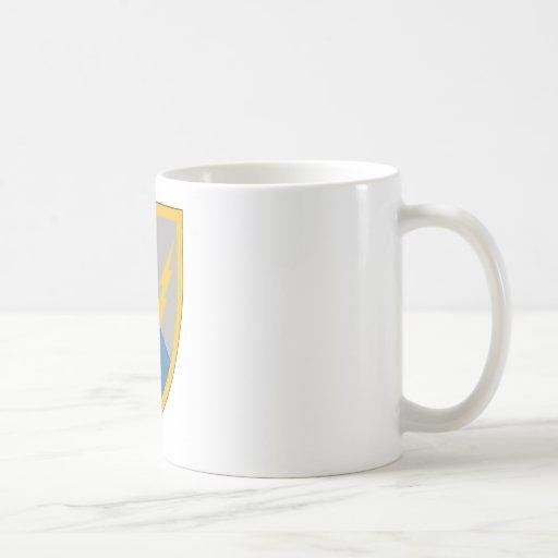 201st Battlefield Surveillance Brigade Basic White Mug