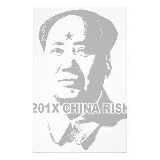 201X China Risk Stationery