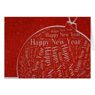 201X Happy New Year | Stylish Cards