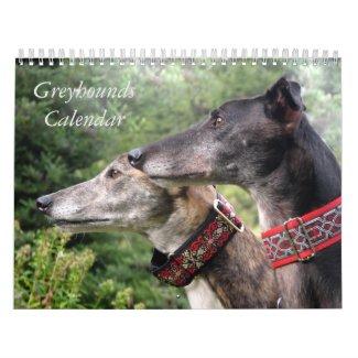2020 Greyhound calendar
