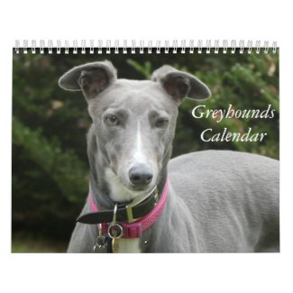2020 Greyhounds calendar