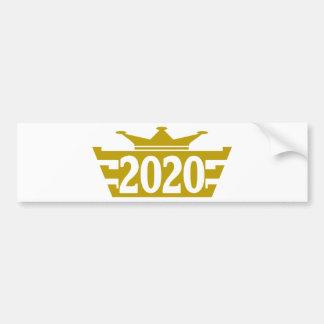 2020-Royal.png Car Bumper Sticker
