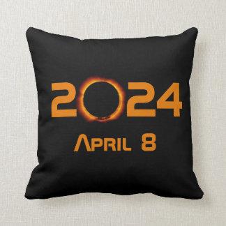 2024 Total Solar Eclipse Date Cushion