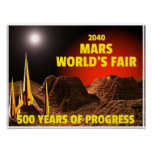 2040 Mar's World's Fair Posters