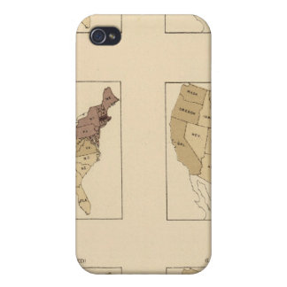 206 Manufactures/sq mile iPhone 4 Cover