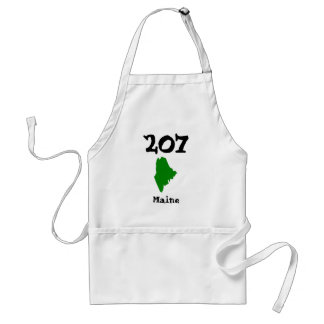 207, Area Code of Maine Standard Apron