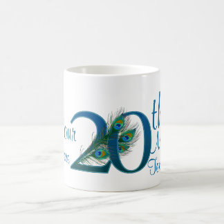 # 20- 20th Wedding Anniversary or 20th Birthday Coffee Mug