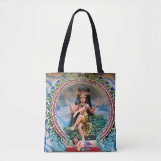 20 - Designer tote bag -  hindu buddha