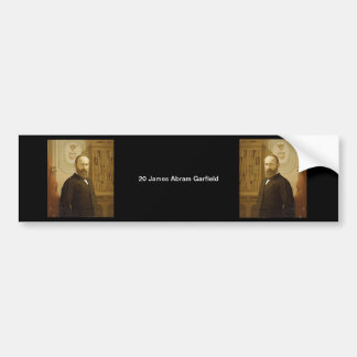 20 James Abram Garfield Bumper Sticker