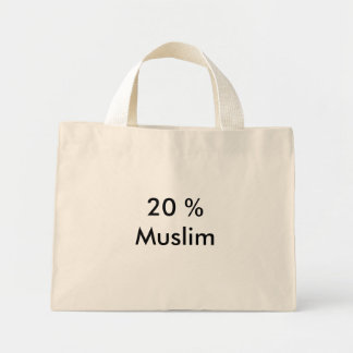 20 % Muslim Mini Tote Bag