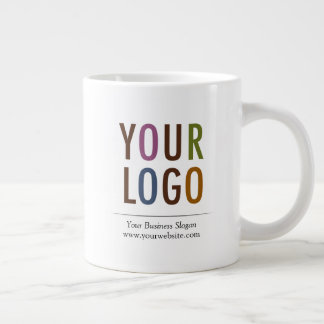 20 oz Custom Large Giant Mug with Logo No Minimum
