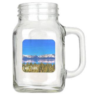 20 oz LAKE TAHOE MASON JAR