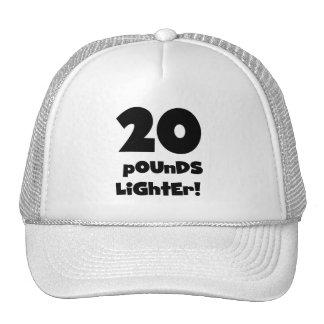 20 Pounds Lighter Hats
