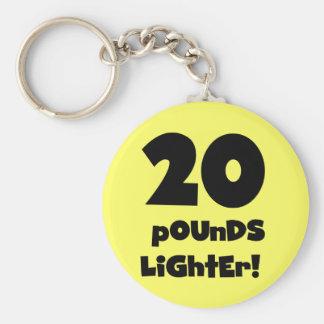 20 Pounds Lighter Key Chains