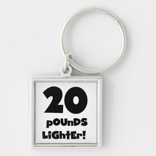 20 Pounds Lighter Key Chain