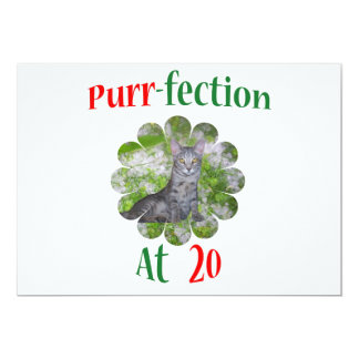 20 Purr-fection Invitation