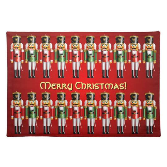 20 Red And Green Xmas Nutcracker Toy Soldiers