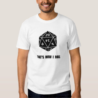 20 Sided Dice Roll Tshirts