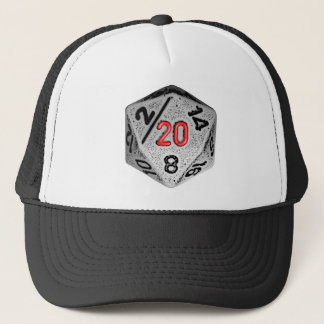 20 Sided Game - Hat- Dice Only Cap
