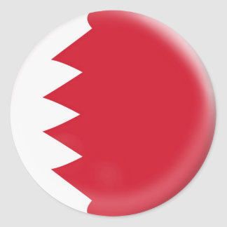 20 small stickers Bahrain flag