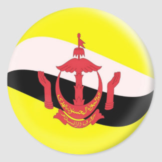 20 small stickers Brunei flag