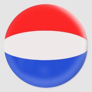 20 small stickers Holland Dutch flag